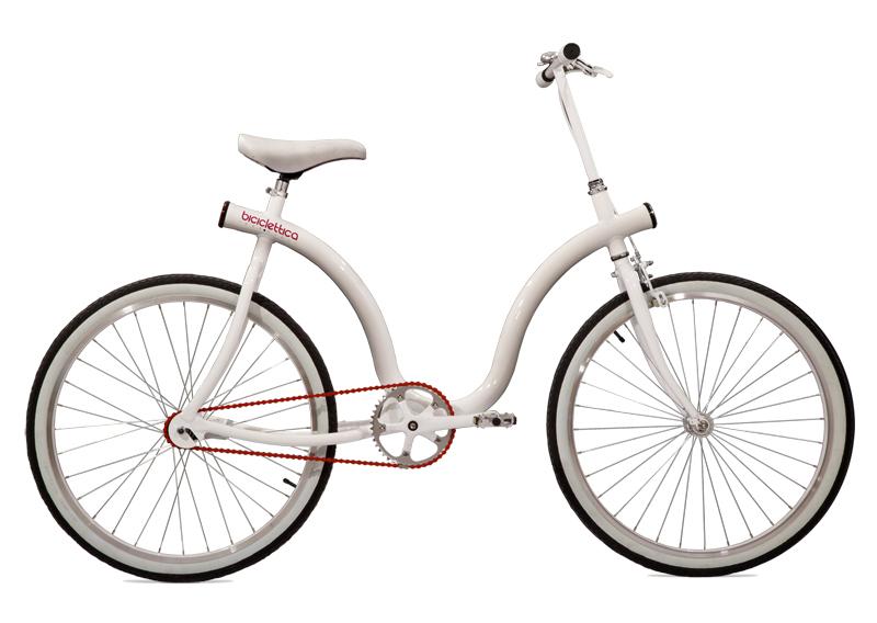 Biciclettica White
